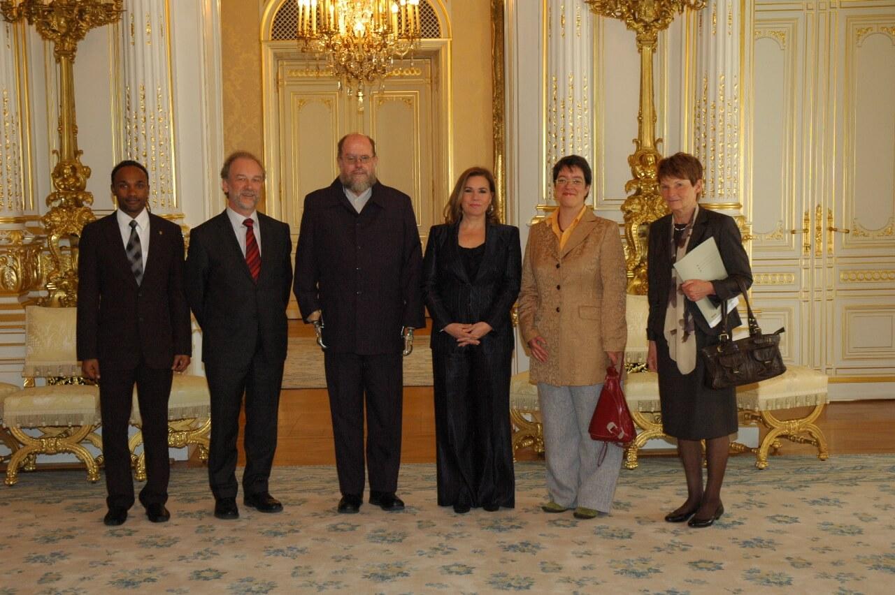 Audience Michael Lapsley et ACAT Palais Grand-ducal 2010