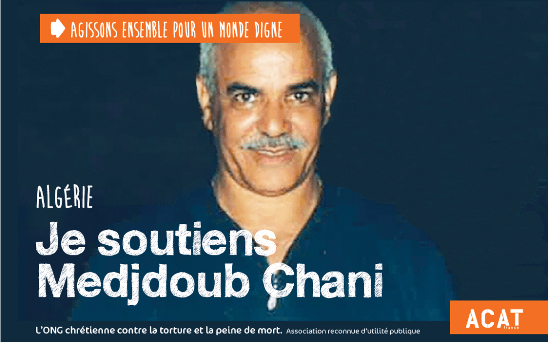 Message de Medjoub Chani