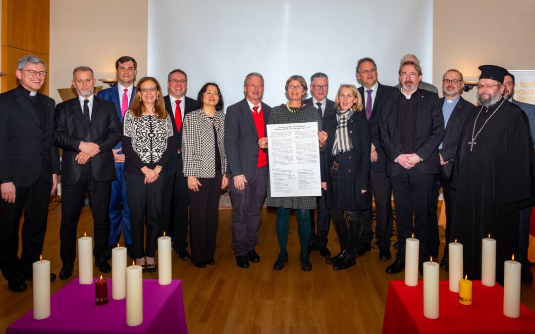 Interreligiöse Festveranstaltung anlässlich des 70. Jahrestages der Allgemeinen Erklärung der Menschenrechte in Luxemburg